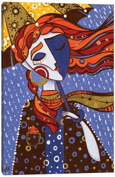 Sunny Rain Canvas Art Print