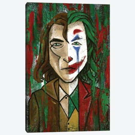 Joker Canvas Print #YLB20} by Yulia Belasla Canvas Wall Art