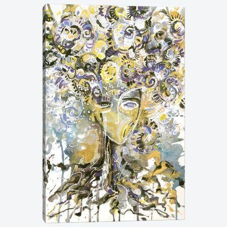 Family Tree Canvas Print #YLB23} by Yulia Belasla Canvas Wall Art