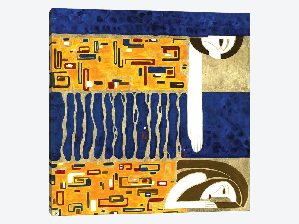 Threads Of Fate by Yulia Belasla 1-piece Canvas Print