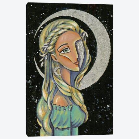 Princess Of The Moon Canvas Print #YLB32} by Yulia Belasla Art Print