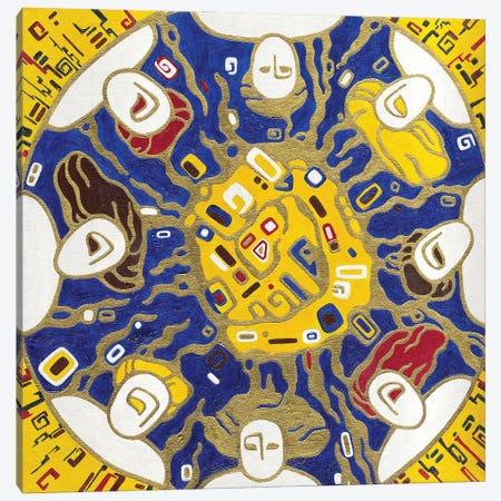 Sleeping Under The Sun Canvas Print #YLB36} by Yulia Belasla Canvas Wall Art