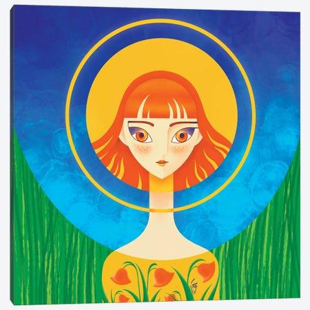 Spring Sunshine - Digital Art Canvas Print #YLB43} by Yulia Belasla Canvas Artwork