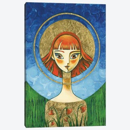 Spring Sunshine, Acrylic Painting Canvas Print #YLB44} by Yulia Belasla Canvas Print