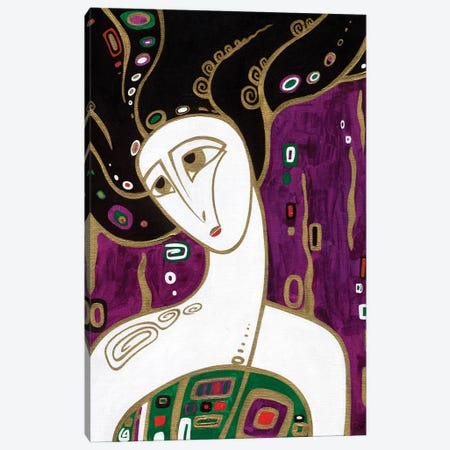 Mermaid Canvas Print #YLB4} by Yulia Belasla Art Print