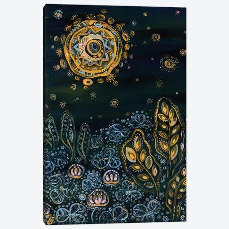 Sunrise Happens And Night Canvas Print #YLB5} by Yulia Belasla Canvas Print