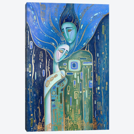 Just Love Canvas Print #YLB8} by Yulia Belasla Canvas Art