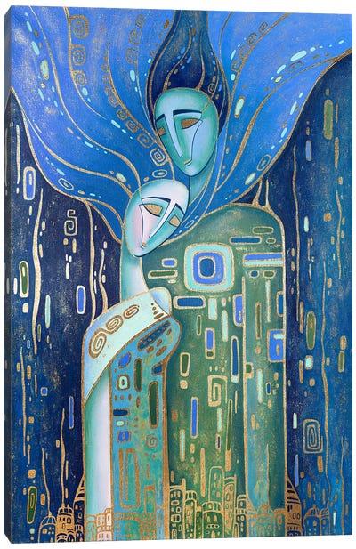 Just Love Canvas Art Print