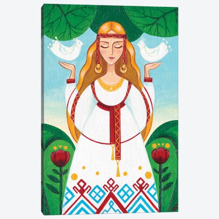 Bereginya Canvas Print #YLB9} by Yulia Belasla Canvas Wall Art