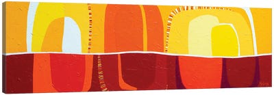 Desert Heat Canvas Art Print