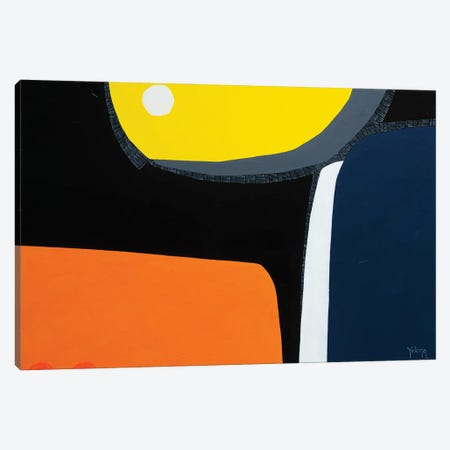 Eclipse Canvas Print #YLR12} by Yelena Revis Canvas Art Print