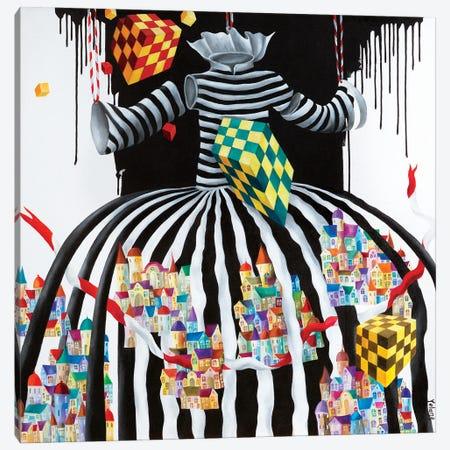 Faceless Canvas Print #YLR13} by Yelena Revis Art Print