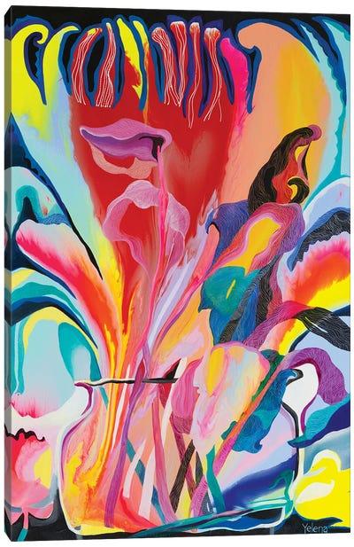 Garden Of Eden I Canvas Art Print