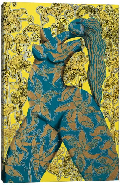 Golden Venus III Canvas Art Print