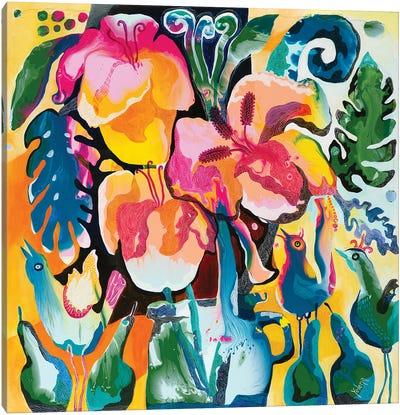 Morning Joy Canvas Art Print