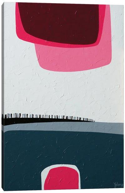 Pink Reflection Canvas Art Print