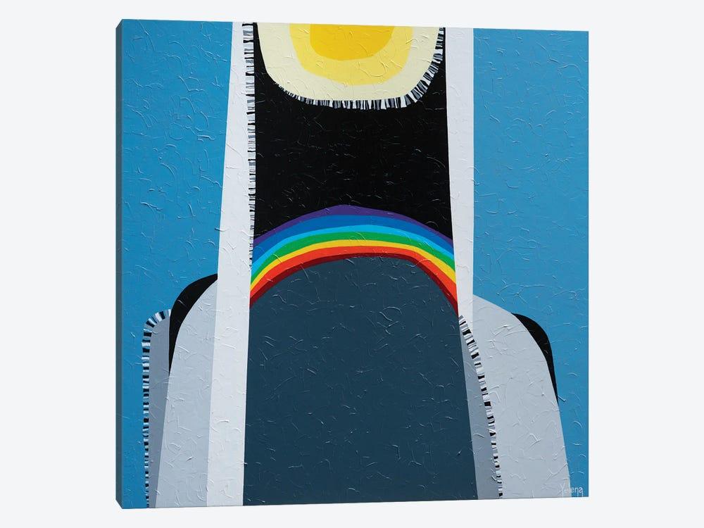 Rainbow Mood by Yelena Revis 1-piece Art Print