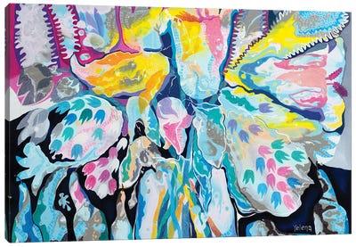 Splash Of Blossom Canvas Art Print