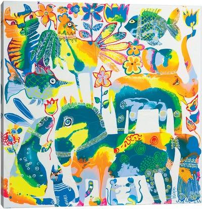 Spring Zodiac Canvas Art Print