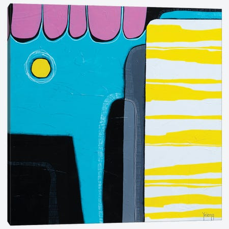 Sunny Colour Mood Canvas Print #YLR33} by Yelena Revis Canvas Print