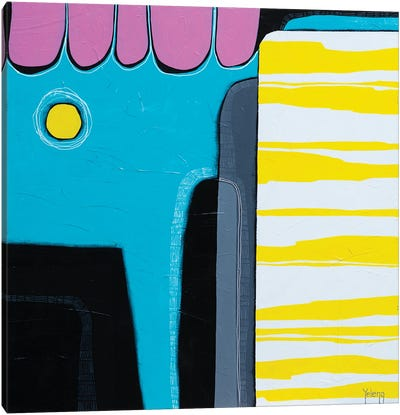 Sunny Colour Mood Canvas Art Print