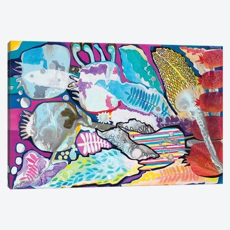 The Enchanted Garden Canvas Print #YLR35} by Yelena Revis Canvas Wall Art