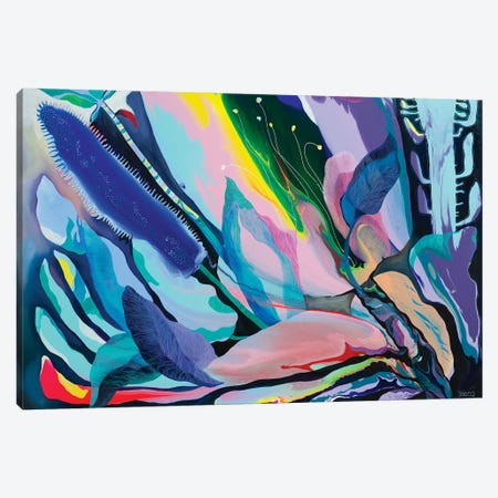 Tropical Mood II Canvas Print #YLR36} by Yelena Revis Canvas Wall Art