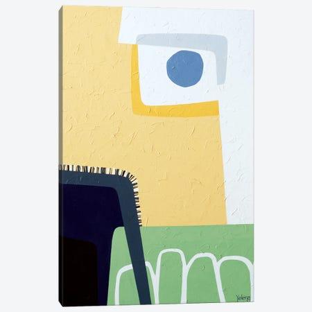 Blue Fog Canvas Print #YLR6} by Yelena Revis Canvas Artwork