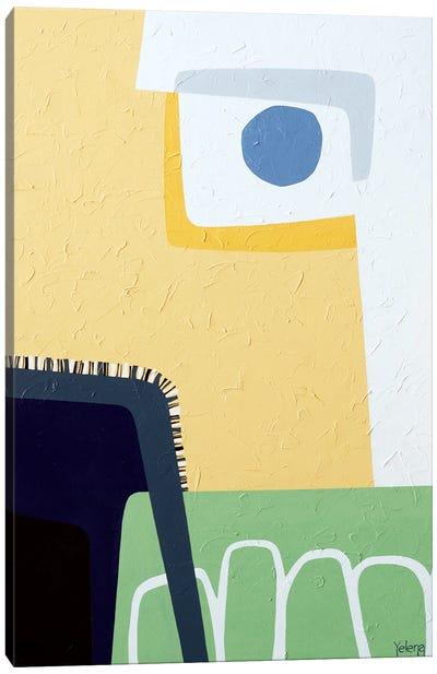 Blue Fog Canvas Art Print