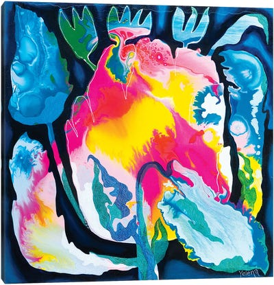 Colour Burst Canvas Art Print