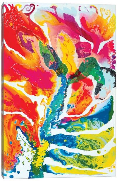 Colour Transformation Canvas Art Print