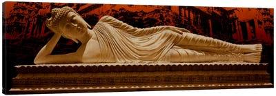 Laying Buddha at Angkor Wat Canvas Art Print