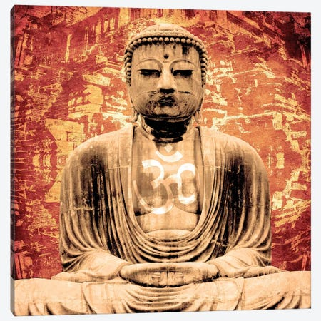 Buddha Canvas Print #YOG13} by Unknown Artist Canvas Artwork
