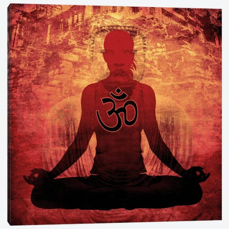 Meditation Canvas Print #YOG14} by Unknown Artist Art Print