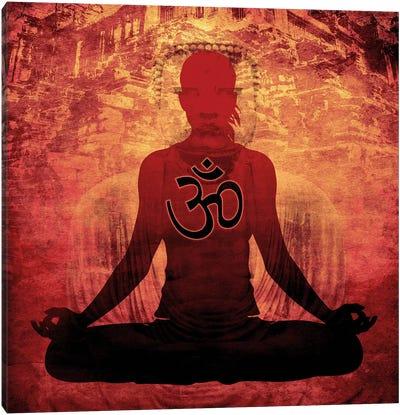 Meditation Canvas Print #YOG14