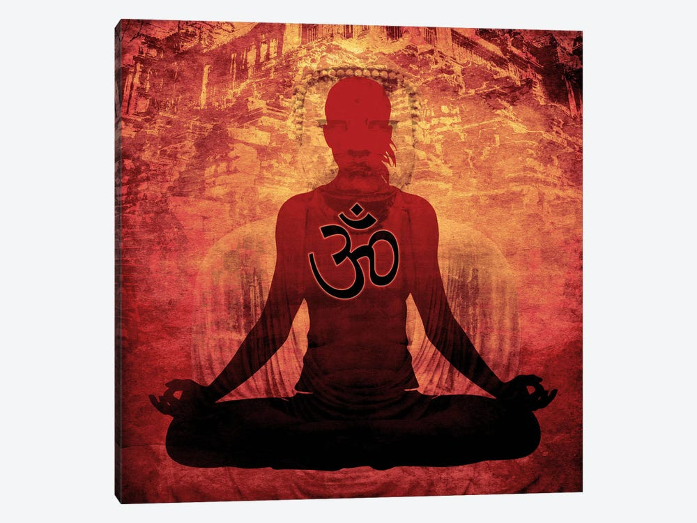 Meditation by Unknown Artist 1-piece Canvas Print