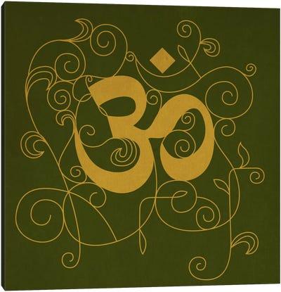 OM Meditation Canvas Print #YOG5
