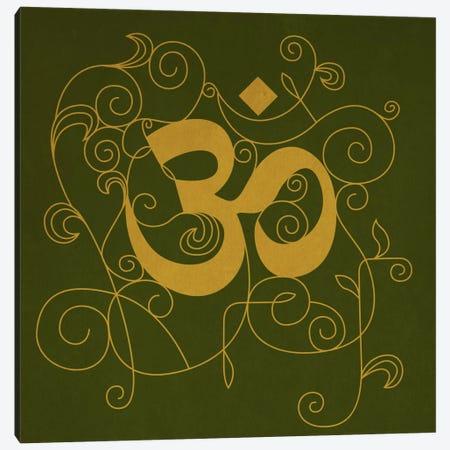 OM Meditation Canvas Print #YOG5} by Unknown Artist Canvas Print