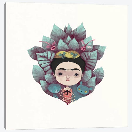 Frida Canvas Print #YOS17} by Yohan Sacre Art Print