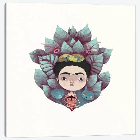 Frida Canvas Print #YOS17} by Yohan Sacre Art Print