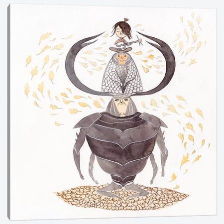 Kubo Canvas Print #YOS19} by Yohan Sacre Canvas Wall Art