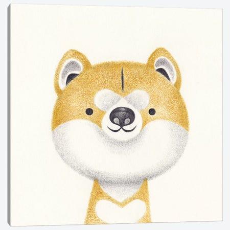 Akita Canvas Print #YOS1} by Yohan Sacre Art Print