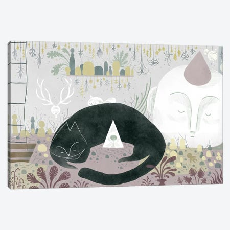 At Home Canvas Print #YOS44} by Yohan Sacre Canvas Art