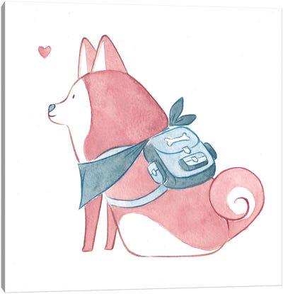 Doggo Canvas Art Print