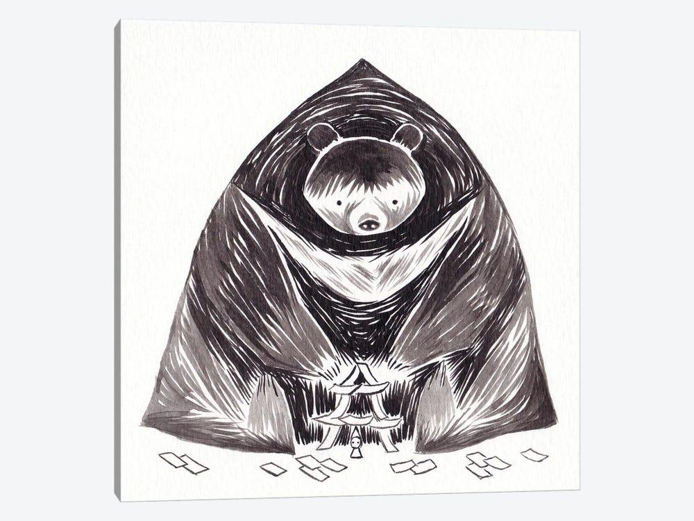 Bear by Yohan Sacre 1-piece Canvas Print