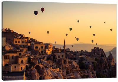 Sunrise Over Cappadocia Canvas Art Print
