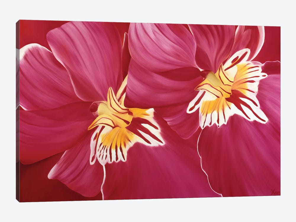 Floriade II by Yvonne Poelstra-Holzhaus 1-piece Canvas Artwork