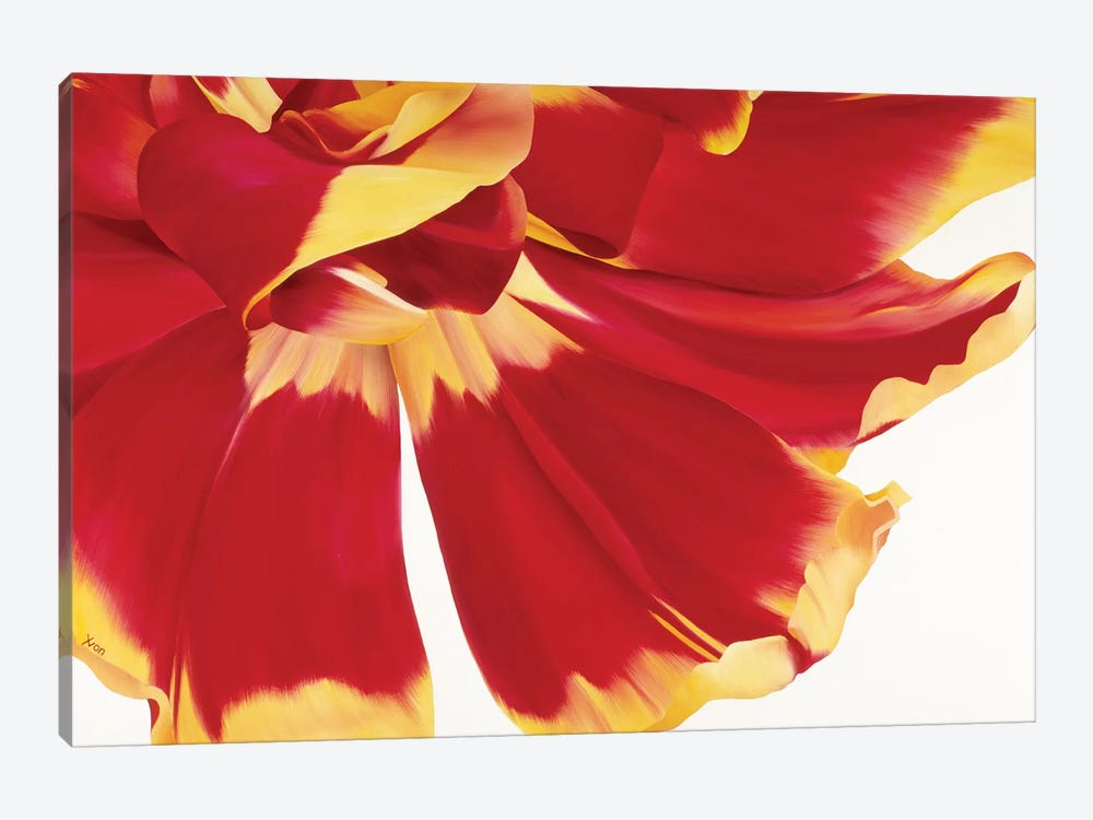 Floriade III by Yvonne Poelstra-Holzhaus 1-piece Canvas Art Print