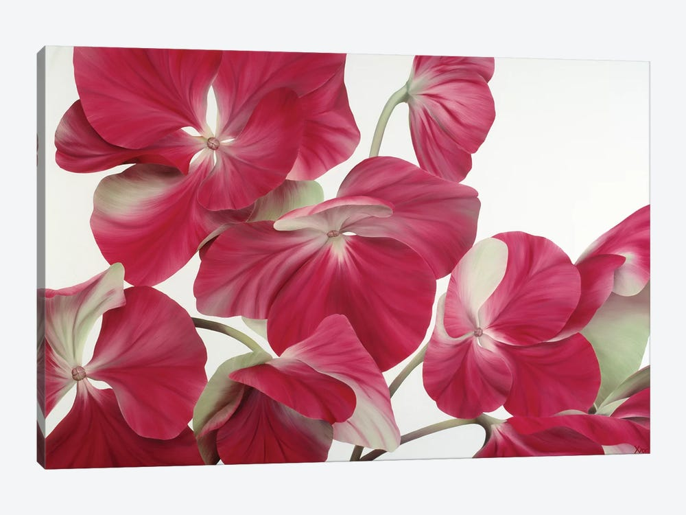 Floriade IV by Yvonne Poelstra-Holzhaus 1-piece Canvas Print
