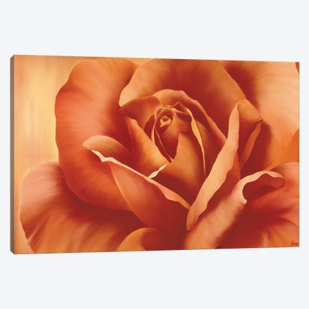Full In Bloom I Canvas Print #YPH23} by Yvonne Poelstra-Holzhaus Canvas Art Print